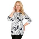 RÖSSLER SELECTION Damen-Shirt marine/bleu/offwhite 54 - 103528000010 - 1 - 140px