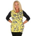RÖSSLER SELECTION Damen-Shirt gelb/schwarz/weiß   - 103528100000 - 1 - 140px