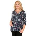 RÖSSLER SELECTION Damen-Shirt multicolor   - 103528200000 - 1 - 140px