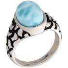 Ring 950 Silber rhodiniert Larimar   - 103538700000 - 1 - 140px