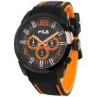 FILA Herren-Chronograph schwarz, orange - 103561500000 - 1 - 140px