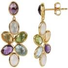 Ohrhänger 925 Silber vergoldet multicolor - 103565300000 - 1 - 140px