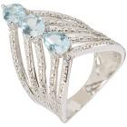 Ring 925 St. Silber Blautopas behandelt   - 103576200000 - 1 - 140px