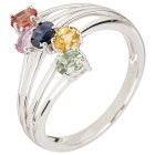 Ring 925 St. Silber Saphir multicolor 16 - 103576400001 - 1 - 140px