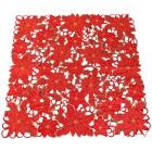 Mitteldecke Weihnachtssterne rot 85x85 cm - 103579800000 - 1 - 140px