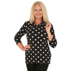 RÖSSLER SELECTION Damen-Poloshirt schwarz/weiß   - 103638600000 - 1 - 140px