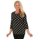 RÖSSLER SELECTION Damen-Shirt schwarz/weiß 44 - 103638800005 - 1 - 140px