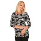 RÖSSLER SELECTION Damen-Shirt schwarz/weiß   - 103639100000 - 1 - 140px