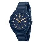 Maserati Herrenuhr Blue Edition, Gliederband blau - 103645500000 - 1 - 140px