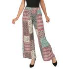 Leichte Damen-Sommerhose pink/multicolor   - 103650100000 - 1 - 140px