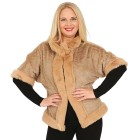 FASHION NEWS Webpelz-Cape camel