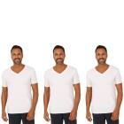 3er Pack Männer T-Shirt (Rippe)  weiß M - 103670400001 - 1 - 140px