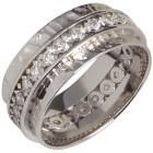 Ring 925 Sterling Silber rhodiniert Zirkonia   - 103681100000 - 1 - 140px