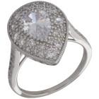 Ring 925 Sterling Silber rhodiniert Zirkonia   - 103697300000 - 1 - 140px