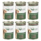 """6x Menü """"Lamm & Rind"""" für Hunde 400g - 103725600000 - 1 - 140px"""