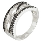 Ring 925 Sterling Silber Spinell+Zirkon   - 103730200000 - 1 - 140px