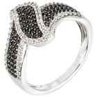 Ring 925 Sterling Silber Spinell+Zirkon 16 - 103730700001 - 1 - 140px