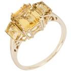 STAR Ring 585 Gelbgold AAA Aquamarin gelb   - 103772100000 - 1 - 140px