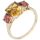 STAR Ring 585 Gelbgold AAA Aquamarin gelb 17 - 103772400001 - 1 - 140px