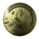 1 kg Pandabär 2020, vergoldet - 103784200000 - 1 - 140px