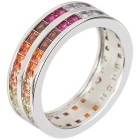 Ring 925 Sterling Silber Zirkonia multicolor   - 103794100000 - 1 - 140px