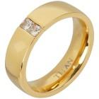 Titan Ring vergoldet mit Zirkonia 22 - 103809100005 - 1 - 140px