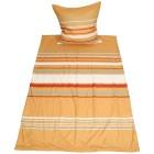 AllSeasons Bettwäsche 2tlg Streifen orange 135x200 - 103815000000 - 1 - 140px