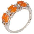 Ring 925 Sterling Silber Äthiopischer Opal orange   - 103817700000 - 1 - 140px