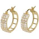 Creolen 925 Sterling Silber vergoldet Zirkonia - 103880300000 - 1 - 140px