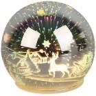 LED-Glaskugel Weihnachtsmotiv - 103897000000 - 1 - 140px