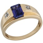 STAR Ring 585 Gelbgold AAAA Tansanit   - 103918000000 - 1 - 140px
