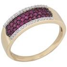 STAR Ring 585 Gelbgold Rubin Thailand 16 - 103918400001 - 1 - 140px
