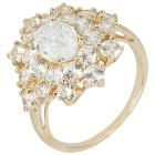 Ring 375 Gelbgold Zirkon weiß   - 103938400000 - 1 - 140px