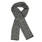 Herrenschal mit Kaschmir grau schwarz - 103941400000 - 1 - 140px