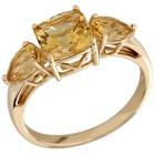 STAR Ring 750 Gelbgold AAA Aquamarin gelb 21 - 103945200006 - 1 - 140px
