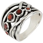 Ring 925 Sterling Silber Granat   - 103969400000 - 1 - 140px