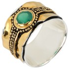 Ring 925 Sterling Silber bicolor Achat