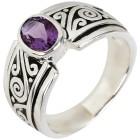 Ring 925 Sterling Silber Amethyst 21 - 103970100005 - 1 - 140px
