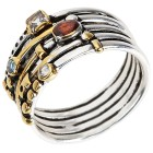 Ring 925 Sterling Silber bicolor   - 103970900000 - 1 - 140px