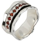 Ring 925 Sterling Silber Granat   - 103971100000 - 1 - 140px