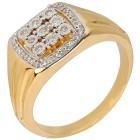 Ring 925 Sterling Silber vergoldet Diamanten   - 103998000000 - 1 - 140px