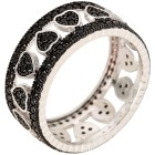 Ring 925 Sterling Silber Spinell Herz   - 103999800000 - 1 - 140px