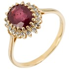 Ring 585 Gelbgold Rubin   - 104008700000 - 1 - 140px