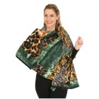 Schal mit Kaschmir grün - 104014100000 - 1 - 140px