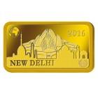 1 Gramm Goldbarren New Dehli 2016 - 104026600000 - 1 - 140px