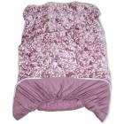Stoffhanse Cahsma Plüsch Unterbett 100x200cm rosé - 104053200000 - 1 - 140px
