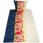 AllSeasons Bettwäsche 2tlg. Floral weiß-blau - 104072000000 - 1 - 140px