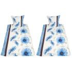 AllSeasons Bettwäsche 4-teilig, blaue Margeriten - 104072400000 - 1 - 140px