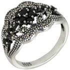 Ring 925 Sterling Silber Markasit 20 - 104166000004 - 1 - 140px