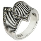 Ring 925 Sterling Silber Markasit   - 104167100000 - 1 - 140px